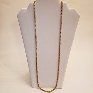 Stainless steel chain necklace